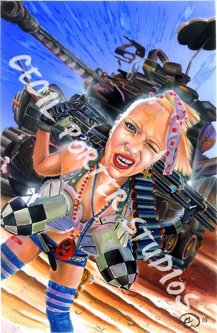 Cecil Porter - tank girl